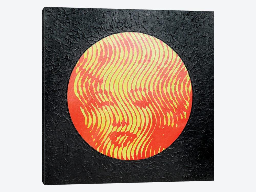 Marilyn Neon Red by Alla GrAnde 1-piece Canvas Art
