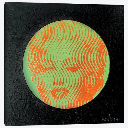 Marilyn Neon Green Canvas Print #LGA176} by Alla GrAnde Canvas Wall Art