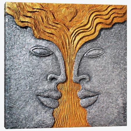 Tree Of Love Canvas Print #LGA182} by Alla GrAnde Canvas Artwork