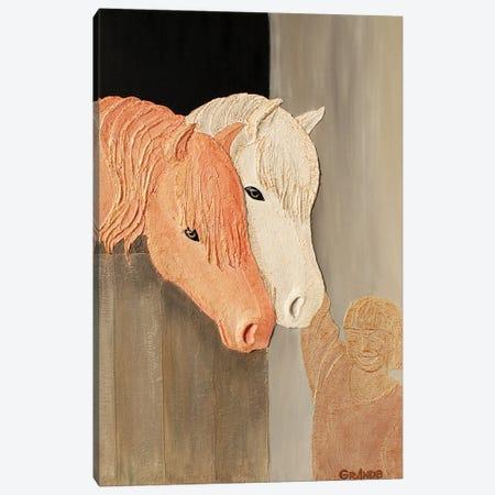 Friends Canvas Print #LGA187} by Alla GrAnde Canvas Print