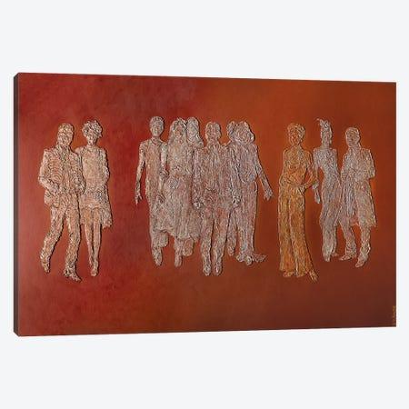 Homage To Coco Canvas Print #LGA196} by Alla GrAnde Canvas Wall Art
