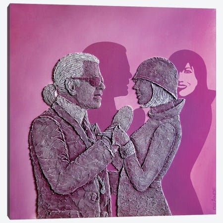 The Second Vision Canvas Print #LGA198} by Alla GrAnde Art Print