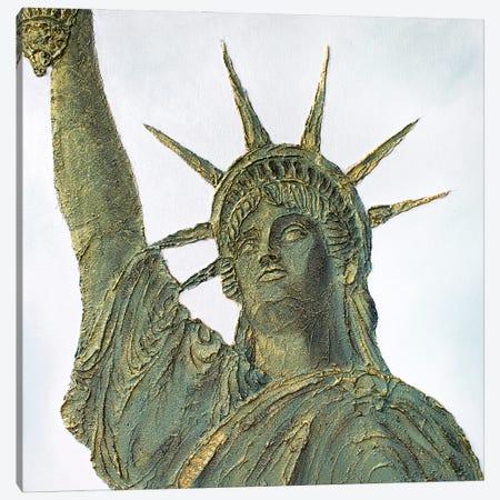 The Statue Of Liberty Canvas Print #LGA205} by Alla GrAnde Canvas Wall Art