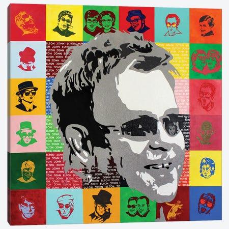 Circle Of Life - Elton John Canvas Print #LGA225} by Alla GrAnde Canvas Wall Art