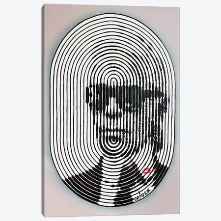 Lagerfeld Stripes Canvas Print #LGA230} by Alla GrAnde Canvas Artwork