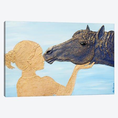 The Touch Canvas Print #LGA236} by Alla GrAnde Canvas Print