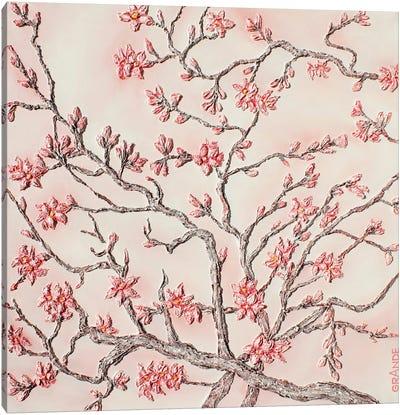 Almond Tree Canvas Art Print