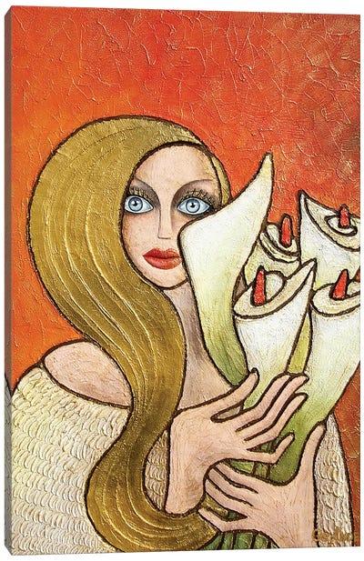 Calla-S-Lady Canvas Art Print