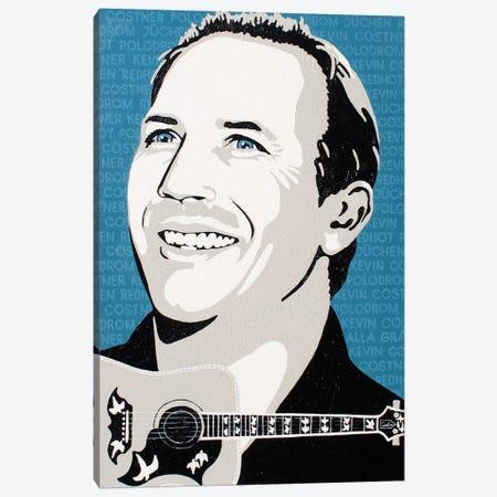 Kevin Costner Canvas Print #LGA247} by Alla GrAnde Canvas Wall Art