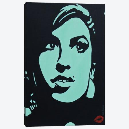 Amy Winehouse Canvas Print #LGA254} by Alla GrAnde Canvas Art Print