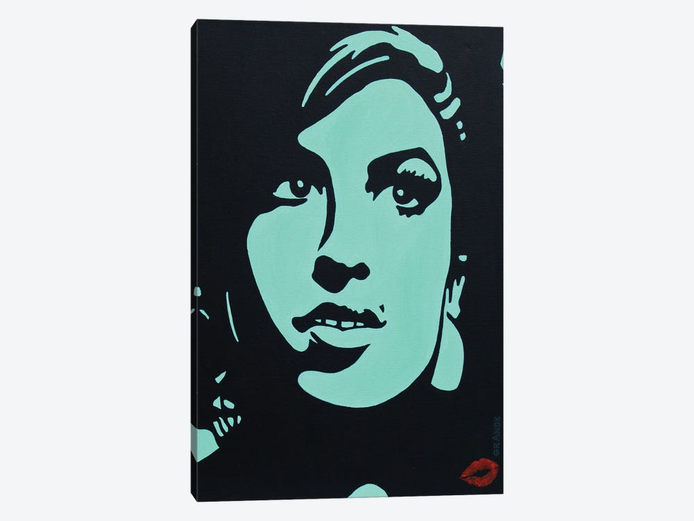 Amy Winehouse by Alla GrAnde 1-piece Canvas Art Print