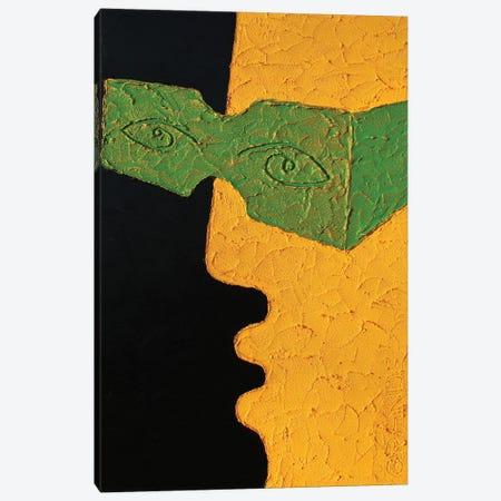 The Green Glasses Canvas Print #LGA263} by Alla GrAnde Canvas Art Print