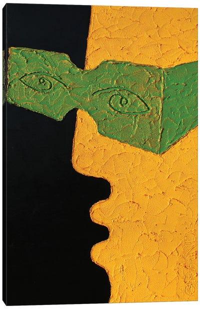 The Green Glasses Canvas Art Print