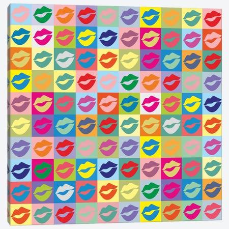 Many Kisses Canvas Print #LGA27} by Alla GrAnde Canvas Art Print