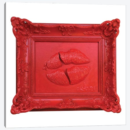 Unrealized Kiss Canvas Print #LGA288} by Alla GrAnde Canvas Art Print