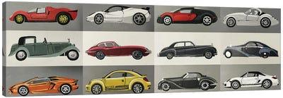Antique Cars Current Canvas Art Print