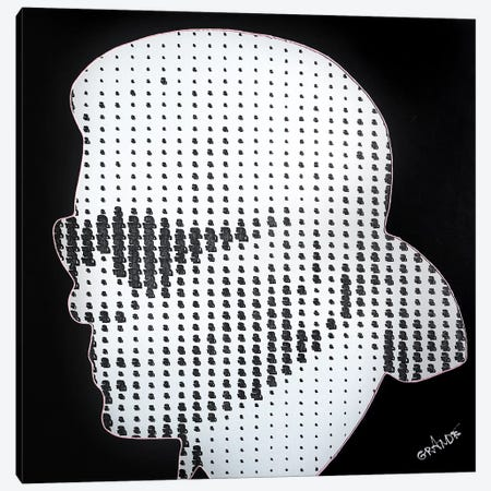 Thousand Dots Of Karl Canvas Print #LGA36} by Alla GrAnde Canvas Art