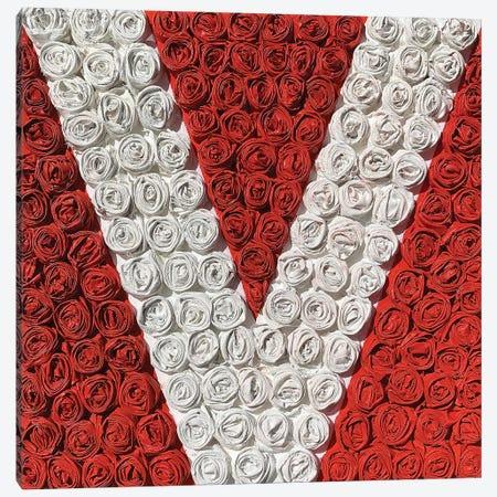 Love Rose III Canvas Print #LGA45} by Alla GrAnde Art Print