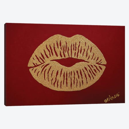 Kiss Of Desert Canvas Print #LGA59} by Alla GrAnde Art Print