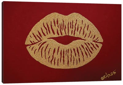Kiss Of Desert Canvas Art Print