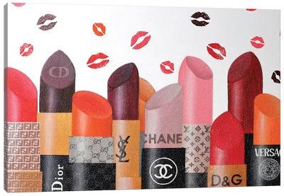 Lipsticks Paradise 2020 Canvas Art Print