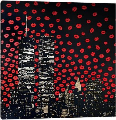 Love Kisses Canvas Art Print