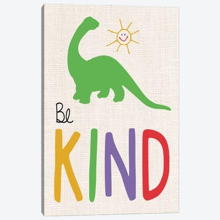 Be Kind Canvas Print #LGB22} by Lauren Gibbons Art Print