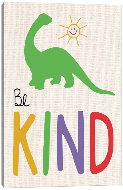 Be Kind Canvas Art Print