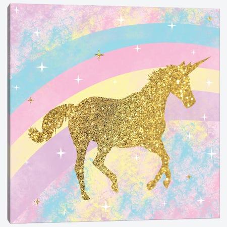 Unicorn II Canvas Print #LGB27} by Lauren Gibbons Canvas Art