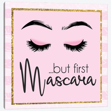 Glamour Mascara Canvas Print #LGB6} by Lauren Gibbons Art Print