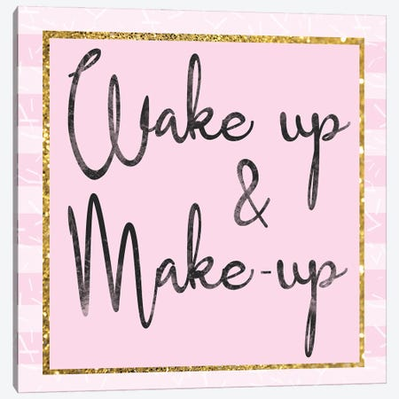 Glamour Wake Up Canvas Print #LGB8} by Lauren Gibbons Canvas Art