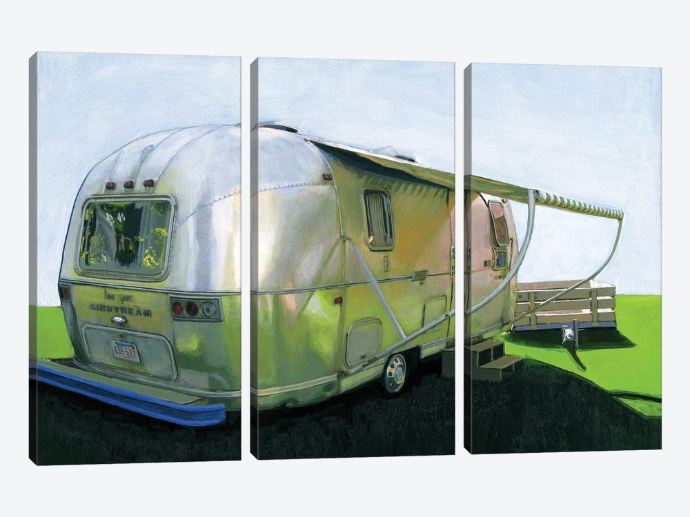 Land Yacht by Leah Giberson 3-piece Canvas Art Print
