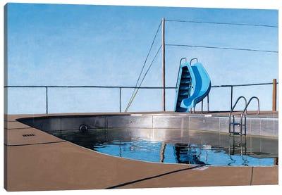 Metal Pool Canvas Art Print