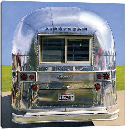 Airstream International Canvas Art Print