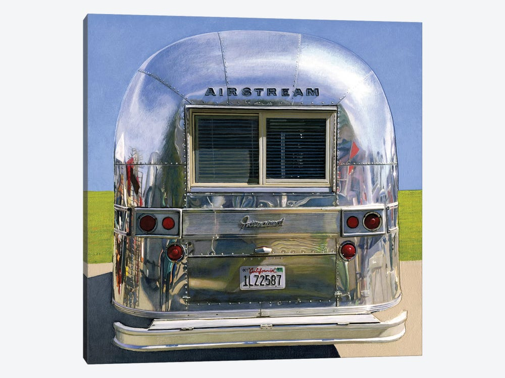 Airstream International by Leah Giberson 1-piece Canvas Art Print