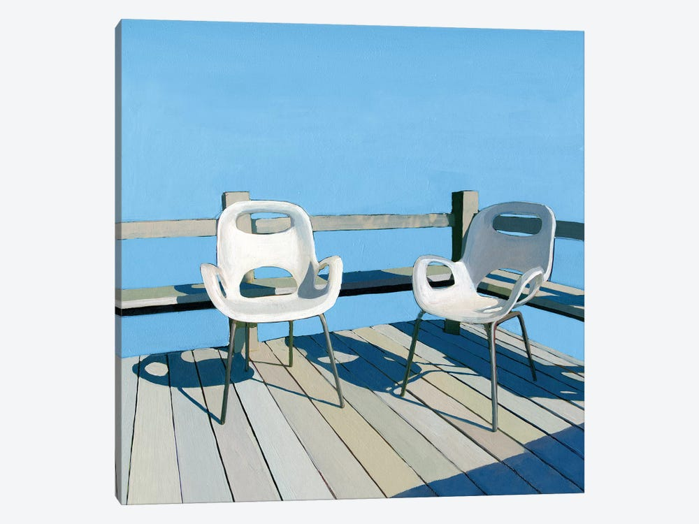 On Deck by Leah Giberson 1-piece Canvas Wall Art