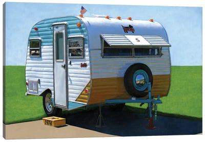 Scotty Motel Canvas Art Print