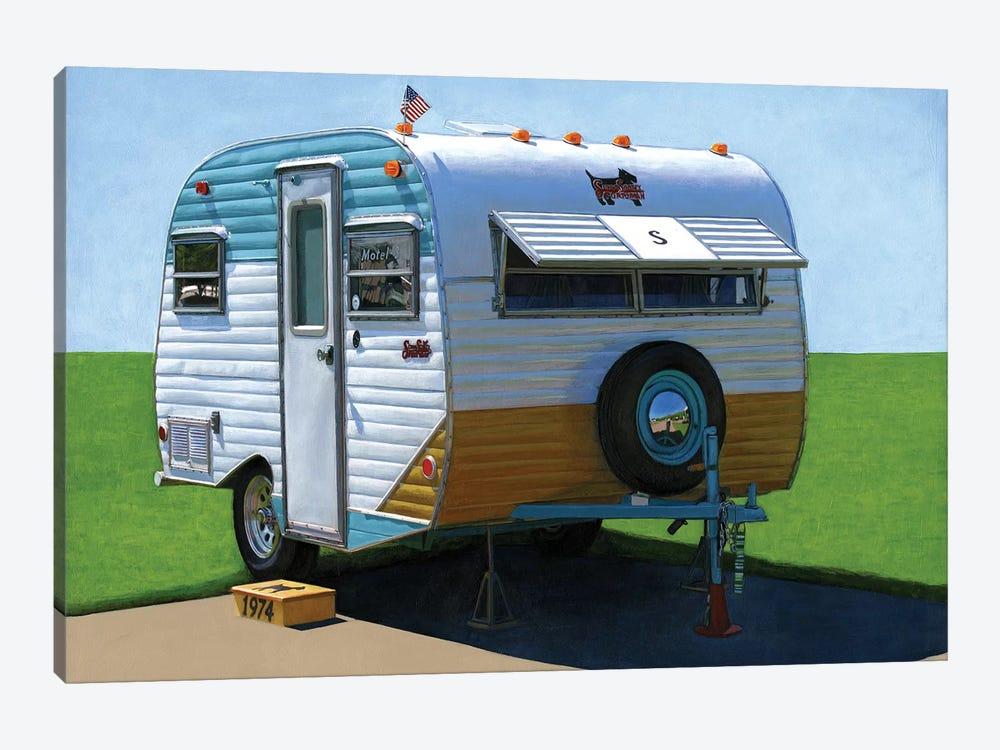 Scotty Motel by Leah Giberson 1-piece Canvas Art
