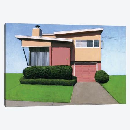 Westlake Pink III Canvas Print #LGI29} by Leah Giberson Canvas Artwork