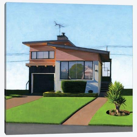 Westlake Pink IV 3-Piece Canvas #LGI30} by Leah Giberson Canvas Print
