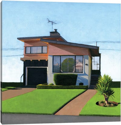Westlake Pink IV Canvas Art Print