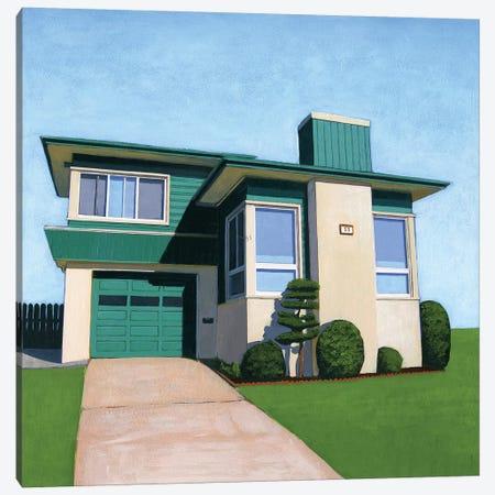 Westlake Viridian Canvas Print #LGI31} by Leah Giberson Canvas Print