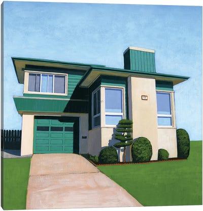 Westlake Viridian Canvas Art Print