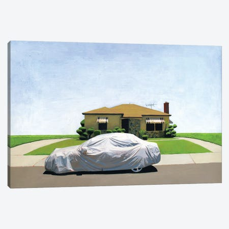 Wrapped Up Canvas Print #LGI33} by Leah Giberson Art Print