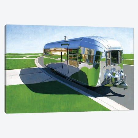 Avion Canvas Print #LGI3} by Leah Giberson Art Print