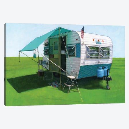 Frolic Canvas Print #LGI8} by Leah Giberson Canvas Print