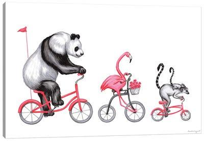 Pink Trio Canvas Art Print