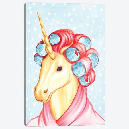 Unicorn Canvas Print #LGL42} by Amélie Legault Canvas Print