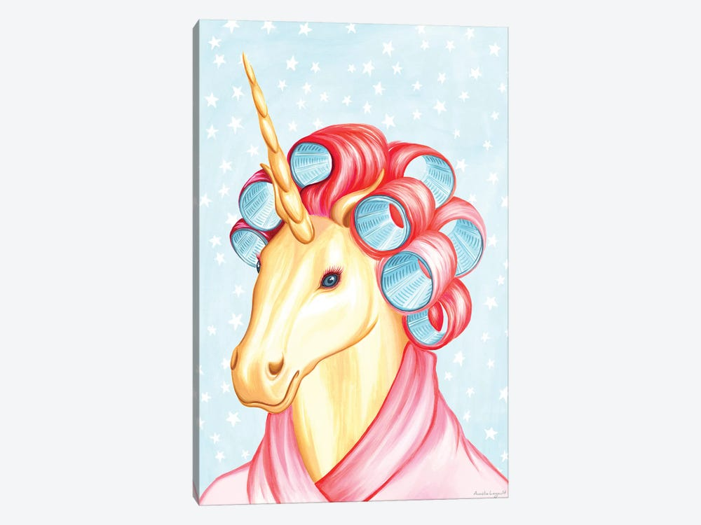 Unicorn by Amélie Legault 1-piece Canvas Artwork