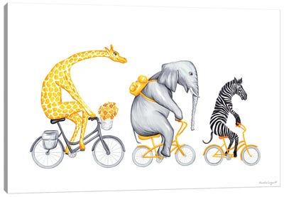 Yellow Trio Canvas Art Print